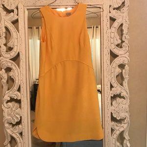 Yellow Cremieux Shift Dress
